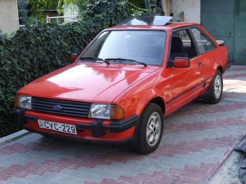 Escort XR3, 1982.