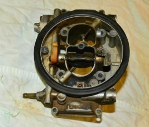 Karburátor-fedél - szivató