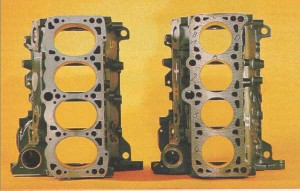 VW ováldugattyús blokk