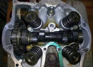 NX650 hengerfej